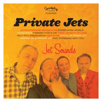 "THE PRIVATE JETS - ""extraordinary sensations"" / ""investigate"""