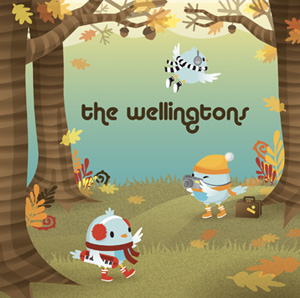 THE WELLINGTONS - popped balloon
